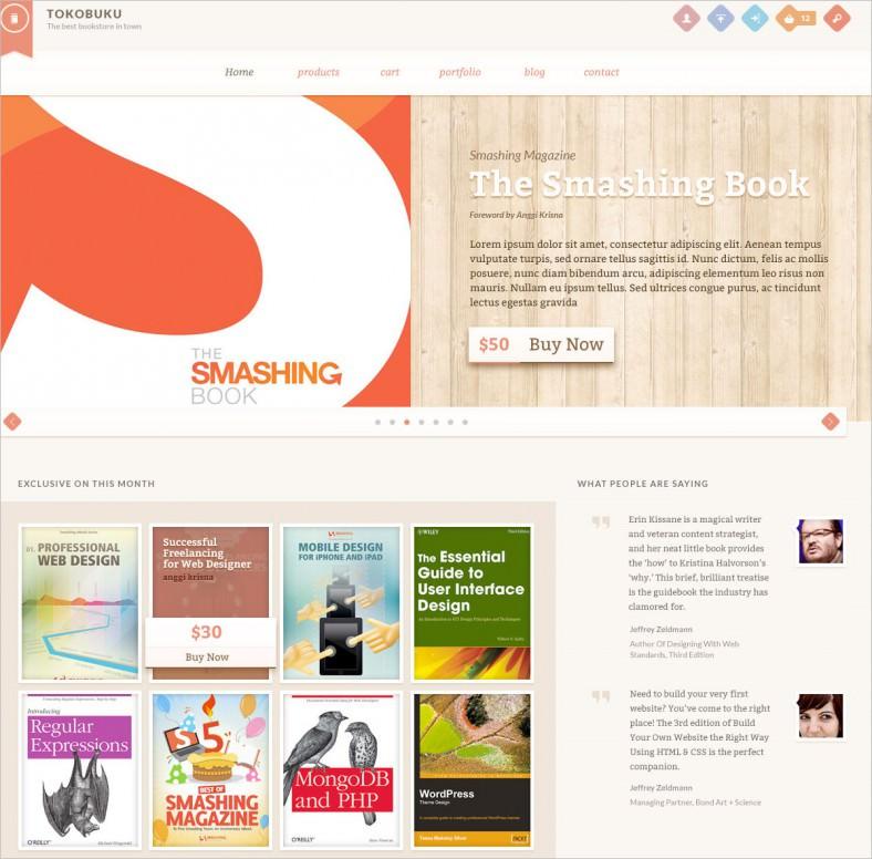 raakbookoo book store responsive woocommerce theme 788x776
