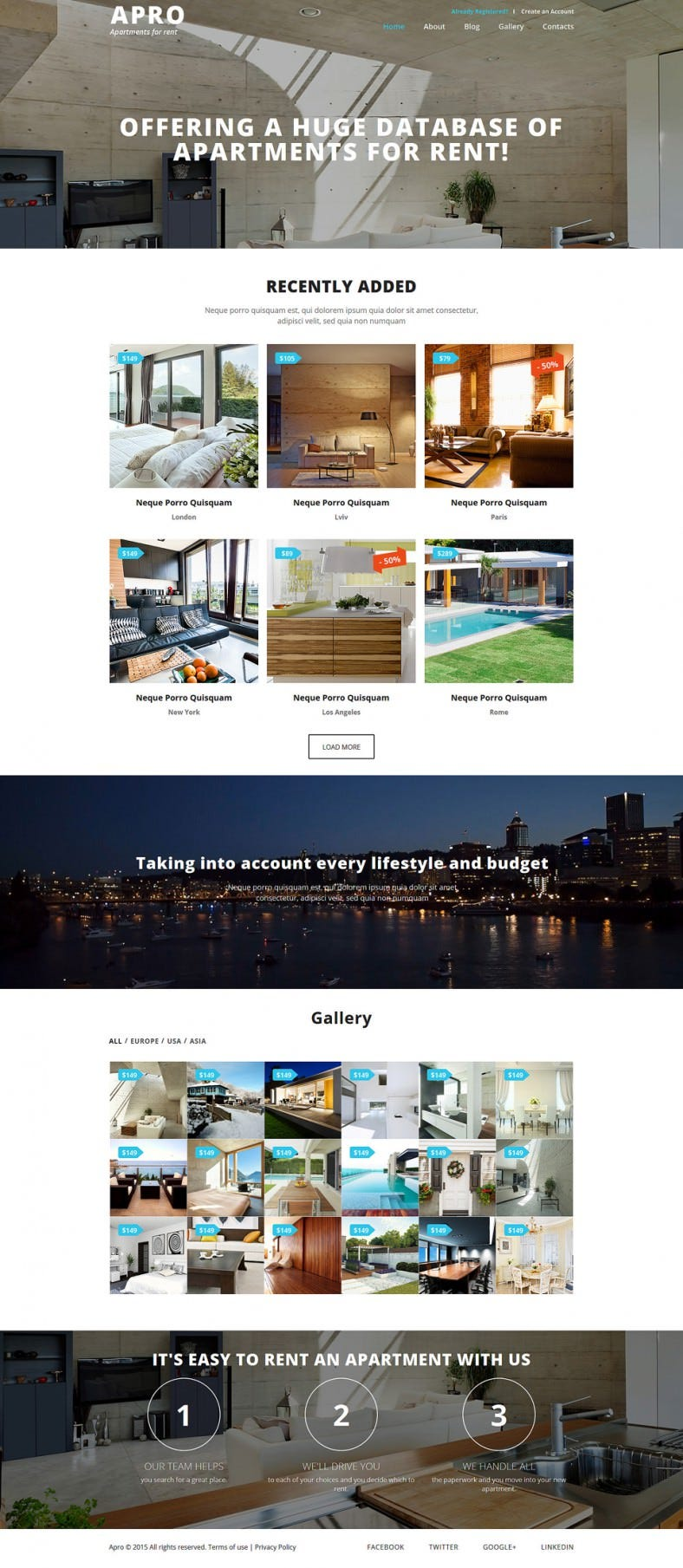 real estate business joomla template 788x1809