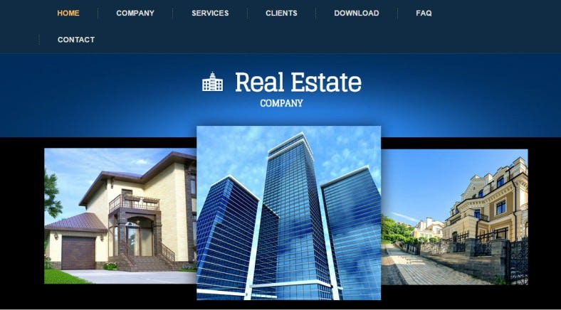 real estate company artisteer project 788x436