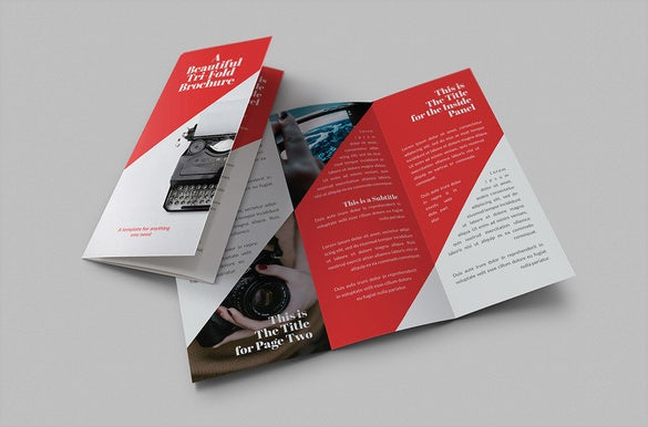 10 fabulous google brochure templates free premium for Red brochure template