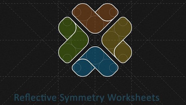 reflectivesymmetryworksheets