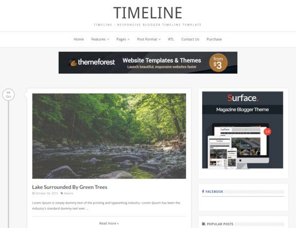 11 Timeline Website Templates Themes Free Premium Templates