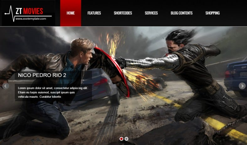 responsive joomla template zt movie 788x465