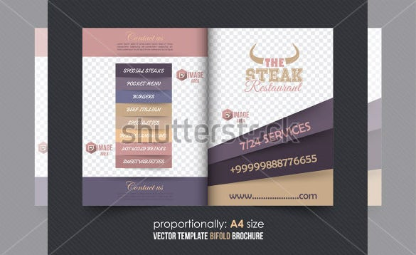 Bi Fold Brochure Templates Free Word PDF PSD EPS - Bi fold brochure template indesign