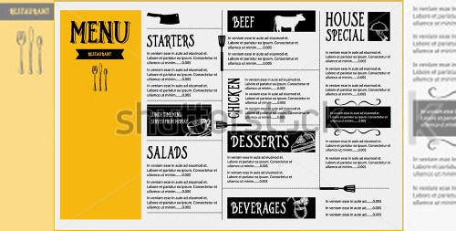 Restaurant Cafe Menu Template