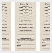 Restaurant-Response-Comment-Card