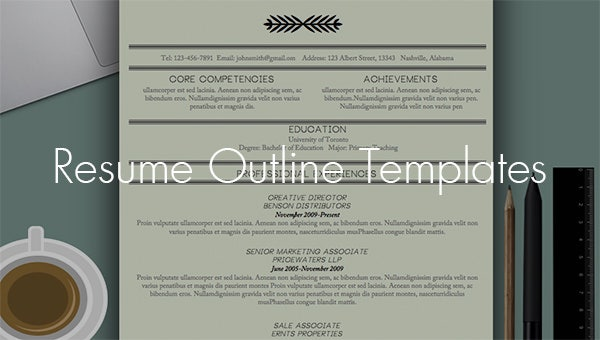 resumeoutlinetemplates