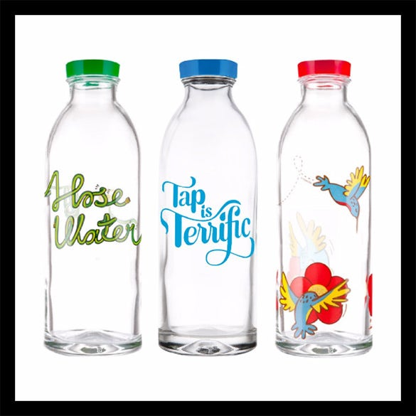 reusable 3 glass water bottles template