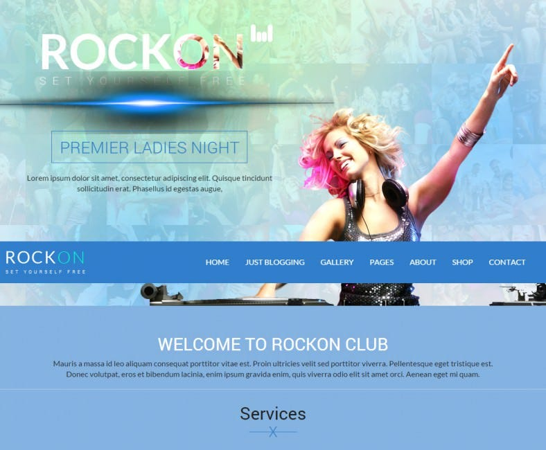 rockon responsive wordpress theme 788x650