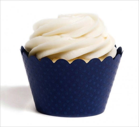 royal blue cupocake wrapper download