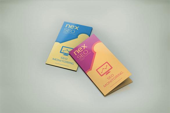 seo business tri fold brochure