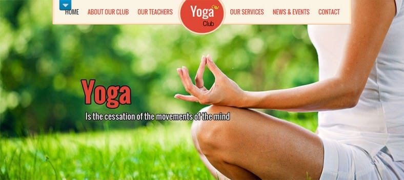 SEO Friendly Yoga WordPress Theme
