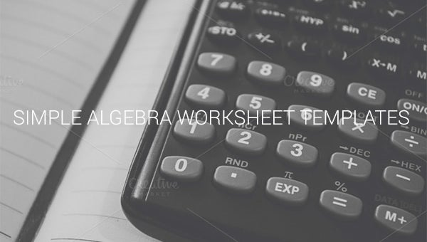 samplealgebraworksheettemplates