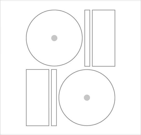 sample microsoft cd label template