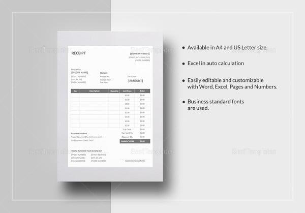 sample-receipt-excel-template