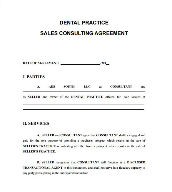 8 consultant contract templates free word pdf documents for Sales consultant contract template