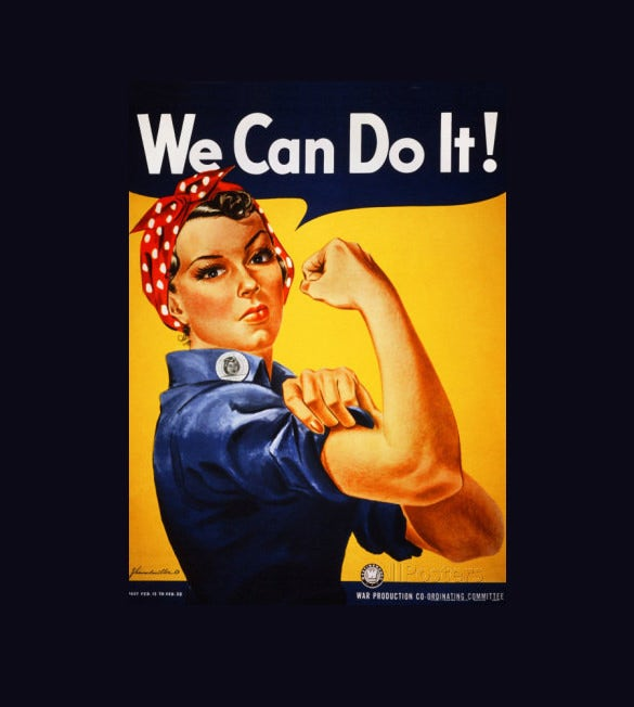sample we can do it poster