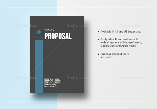 graphic design proposal example - Save.btsa.co