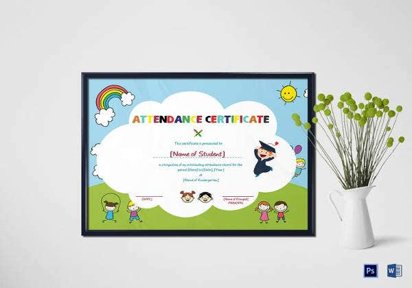 school-students-attendance-certificate-template