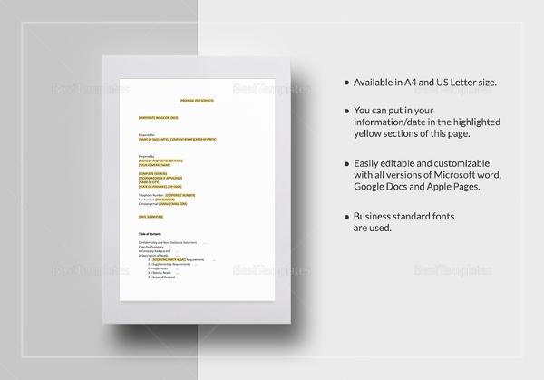 service proposal template1