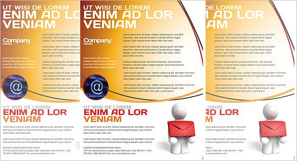simple email dlivery flyer template