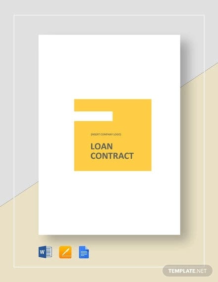 simple loan contract template2