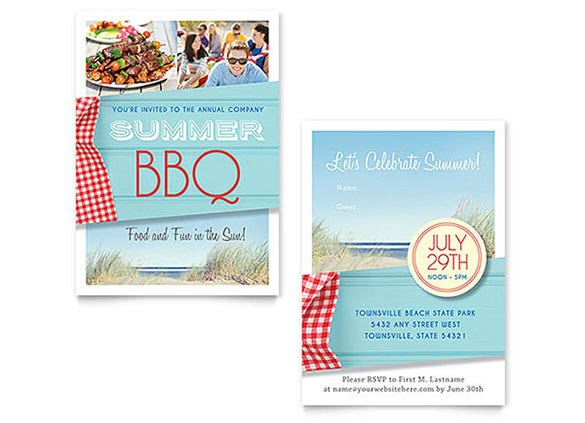 Fantastic Invitation Flyer Templates  Free  Premium Templates