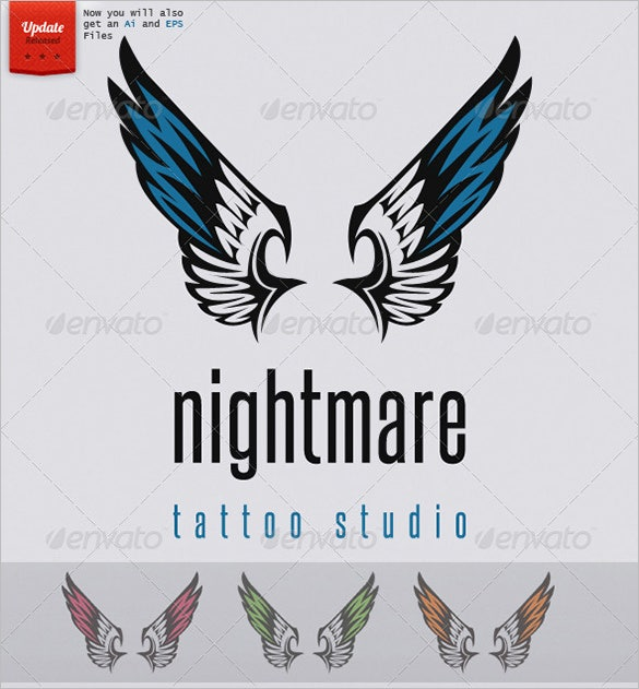 sleeve tattoo design logo template 29