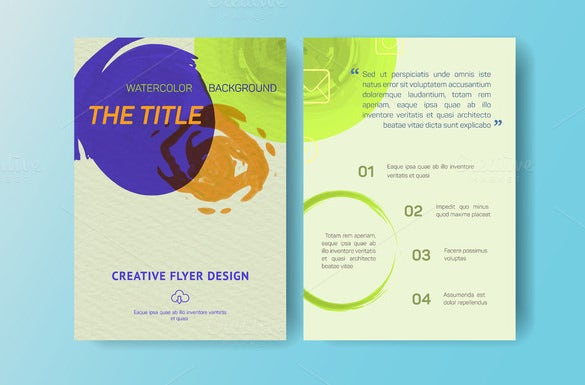 Small Company Business Flyer Template 6