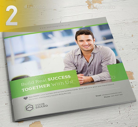 square brochure bundle