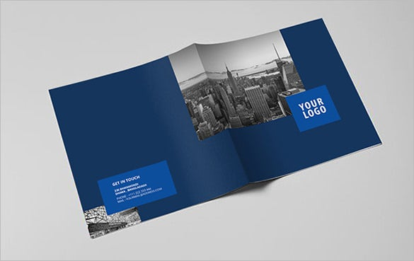 square real estate architecture brochure template