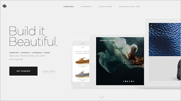 squarespace website design tool