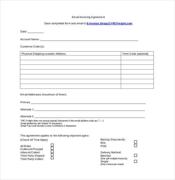 standard-email-invoicing-agreement