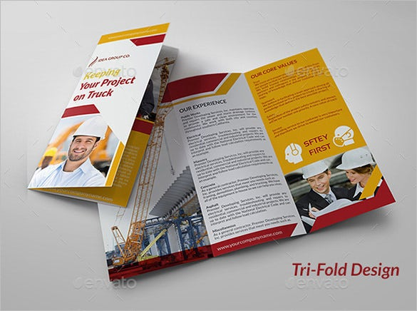 20 Top Construction Company Brochure Templates Word