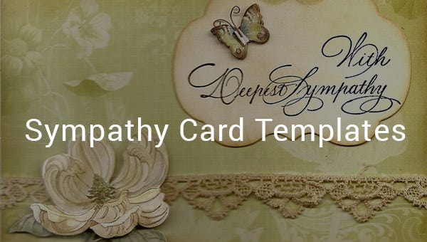 12  sympathy card templates