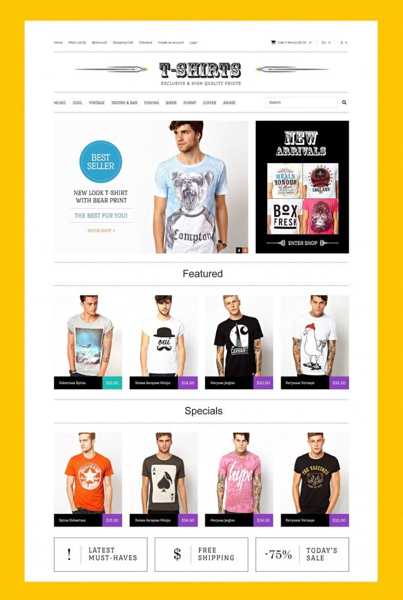 tshirts with uncommon prints opencart template 89 788x1173