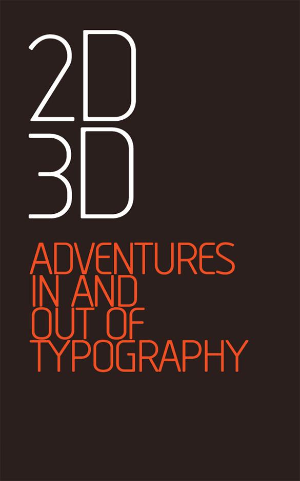 tadao typeface brochure design