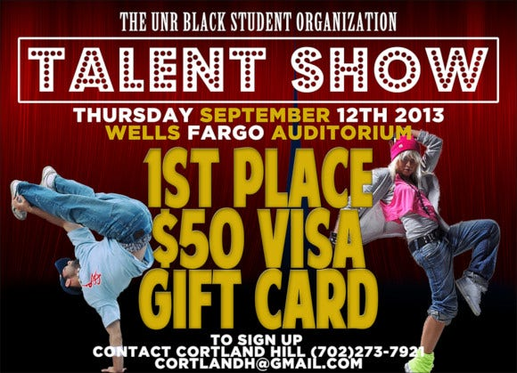 talent show flyer sample download