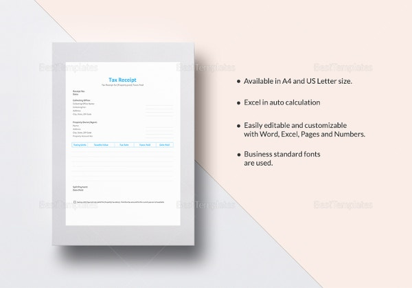 tax-receipt-template