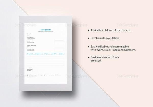 tax-receipt-template