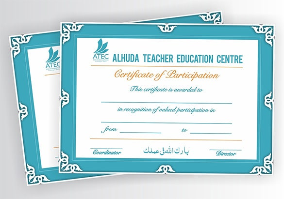 training certificate templates word – Training Certificates Templates Free Download