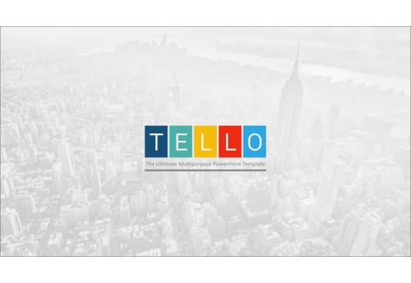 tello powerpoint template