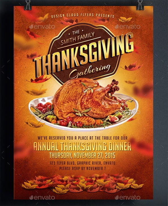 thanks giving dinner invitation