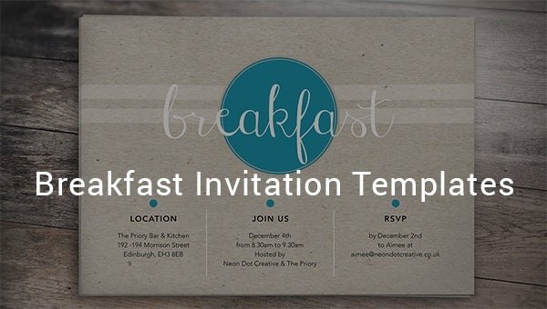 thebreakfastinvitationtemplates