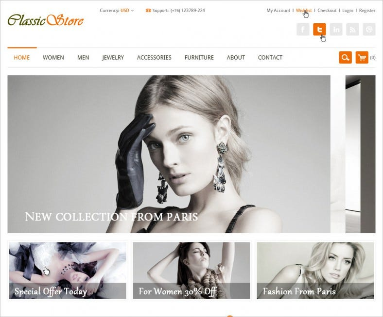 17+ Mindblowing Online Store PSD Website Templates | Free & Premium ...