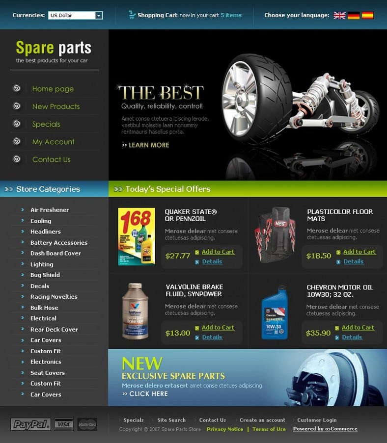 top auto parts oscommerce template 139 788x903