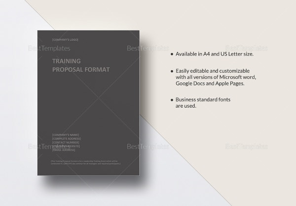 training-proposal-template