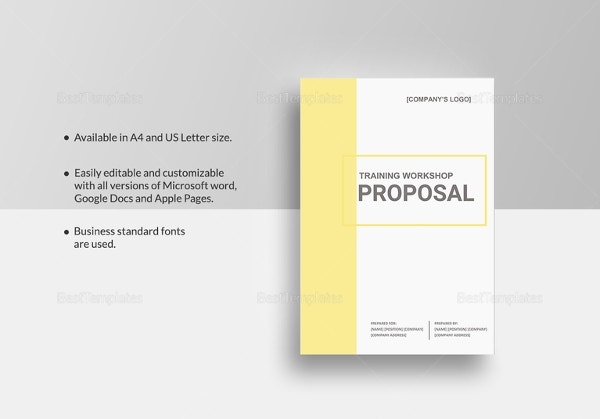 training-workshop-proposal-template
