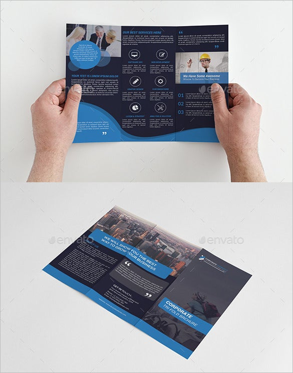tri fold brochure bundle