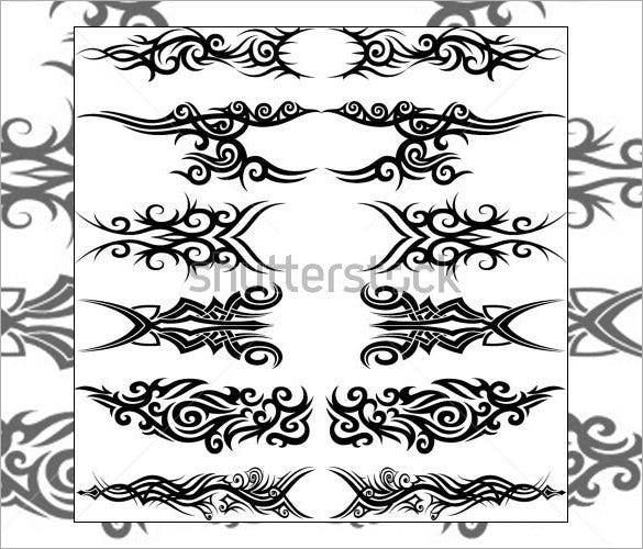 tribal tattoos template